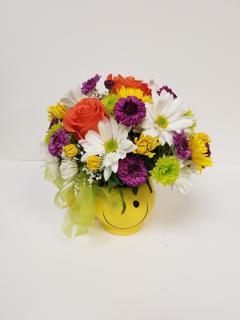 Be Colorful Bouquet with Roses
