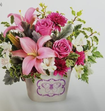 Teleflora\'s Monarch Garden Bouquet